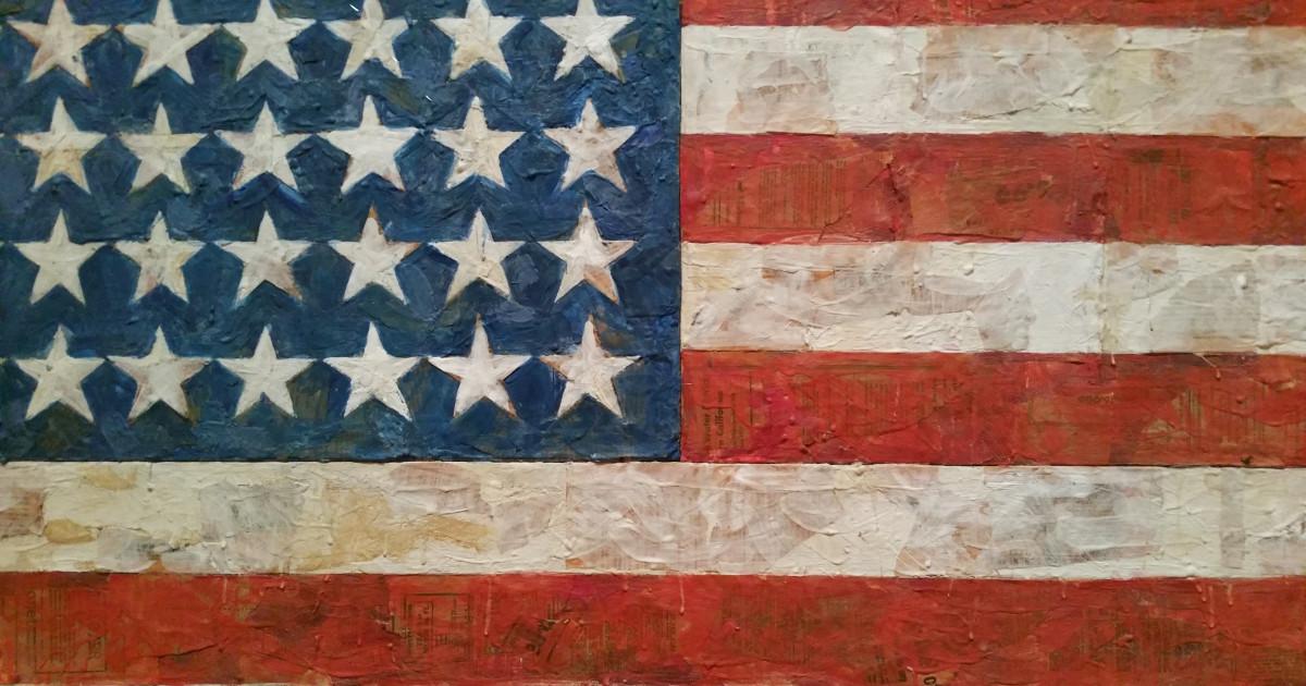 MoMA Jasper Johns Flag | Russwurm